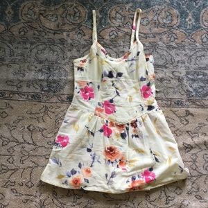 Urban Outfitters Floral Mini Dress Romper